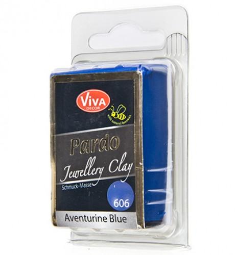 Pardo klei Aventurin blau nr. 606 56gr
